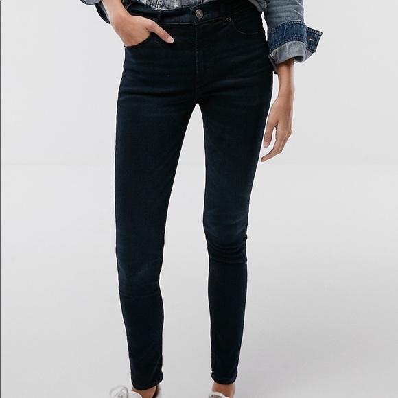 Express Denim - Express High waisted jean leggings
